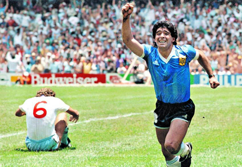 Maradona_vs_england (Credit: Duke University)