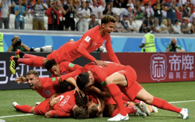 England Celebrate (Credit: Mirror Football)