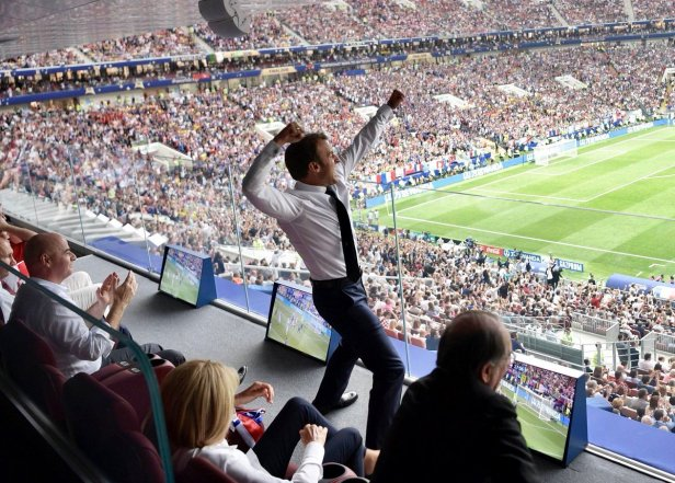 Macron (Credit: PalmersReport)